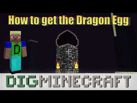 How to make a Dragon Egg in Minecraft