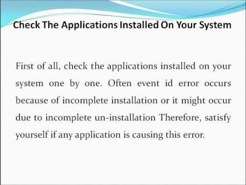 How to Fix Event Id 7000 Error