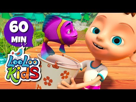 Once I Caught a Fish Alive - Jolly Songs for Children | LooLoo Kids