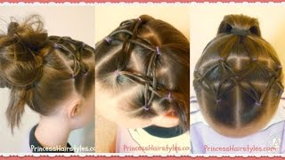 Woven Twist Headband Hairstyle For Soccer, Gymnastics, Sports