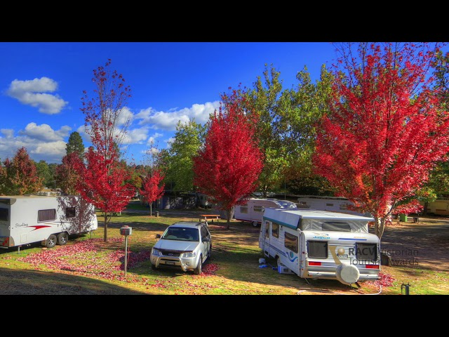 Beechworth Lake Sambell Caravan Park - 2019 RACV Victorian Tourism Awards Entrant