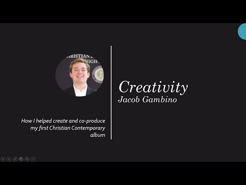 Jacob Gambino - CBC Honors Program Checkpoint Presentation