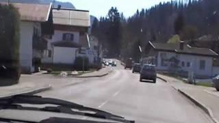 Tegernsee - Fahrt von St.Quirin-Tegernsee-Rottach Egern bis Kreuth 2009