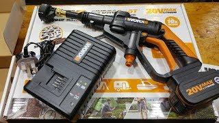威克士WORX 高壓噴射槍 20V橙色系列開箱介紹