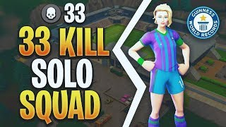 33 Kill Game Solo Squads | Xbox World Record | Fortnite Battle Royale | #FAZE5 @FaZeClan