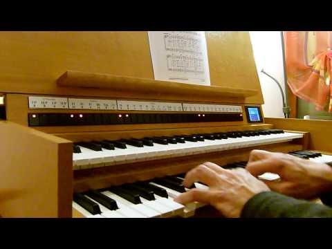 Exultez de joie, peuples de la terre Louange Chants de l'Emmanuel (J.B.Calixte), Pierre ASTOR orgue
