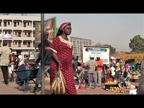 Small Undiscovered West Africa Country