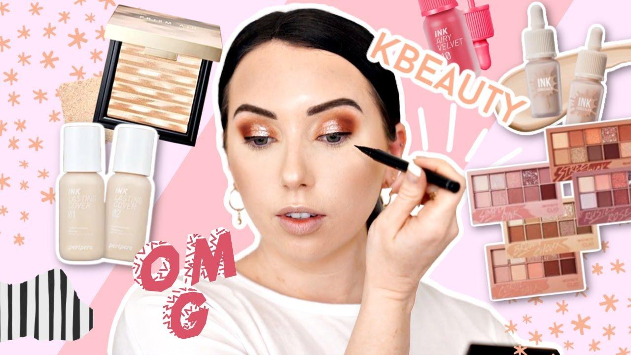 umm...I''m Impressed! 🌸FULL FACE OF K-BEAUTY Affordable Makeup