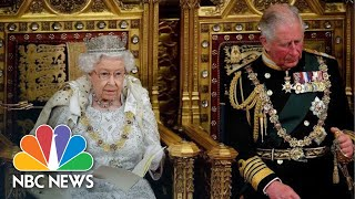 The Queen's Speech Combines Pomp And Politics, Black Rod And Brexit | NBC News