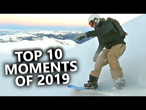 10 Best Snowboarding Moments of 2019
