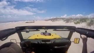 Jeep Wrangler 4X4 Off-Road GoPro Hero 4 Cruise
