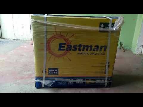 Eastman tall tubular battery unboxing