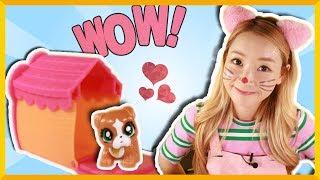 爱丽的超可爱猫咪小屋出奇蛋 | 爱丽和故事 EllieAndStory