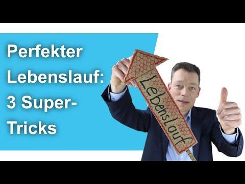 Perfekten Lebenslauf Schreiben – 3 Super-Tricks // M. Wehrle