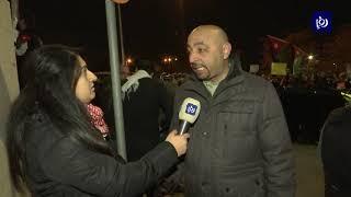 """""""النداء الأخير"""".. وقفتان في عمان وإربد ضد اتفاقية غاز الاحتلال - (28/12/2019)"""