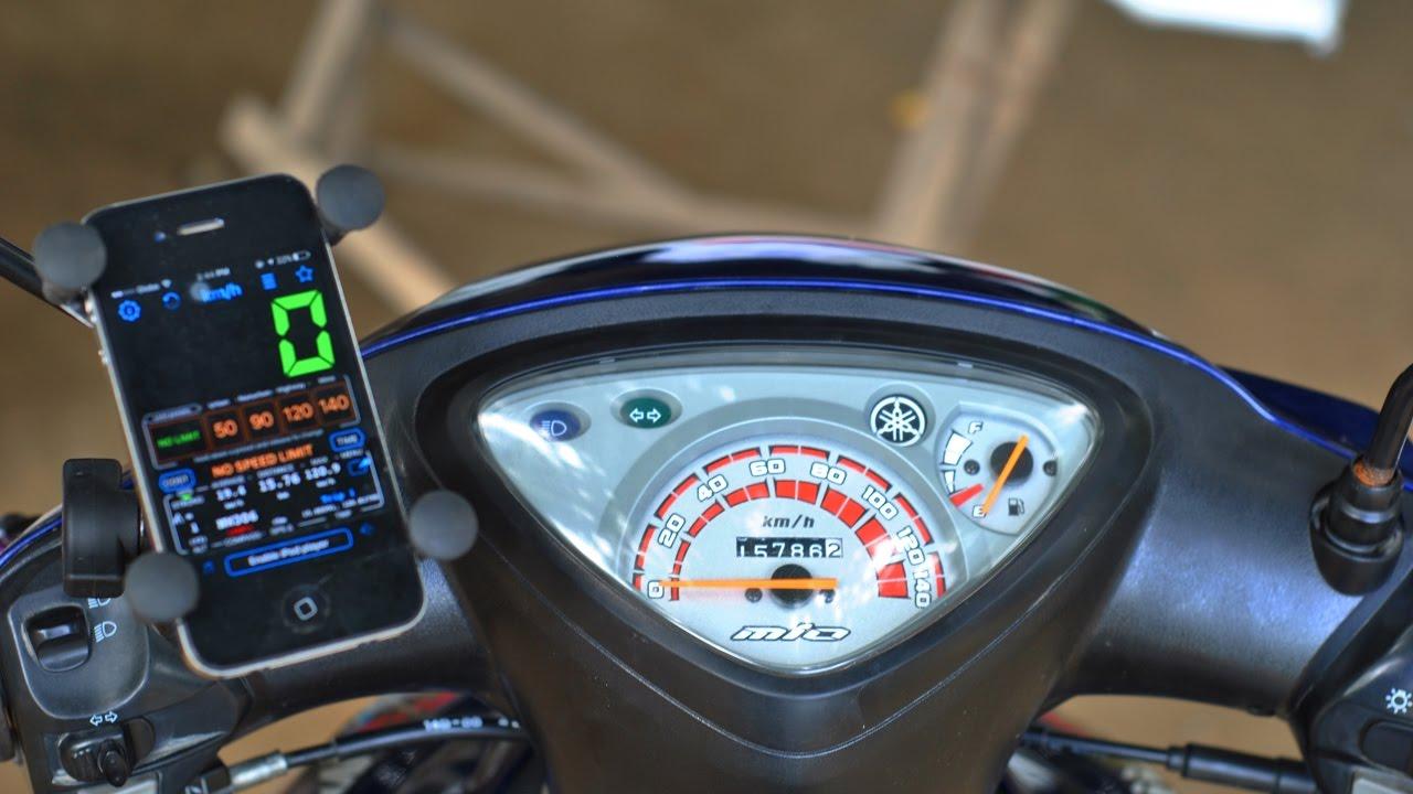 Gps Speed Test Yamaha Mio Sporty Youtube Wiring Diagram Of