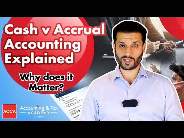 Cash Vs Accruals accounting explained | Why does it matter?