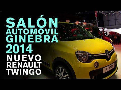 Nuevo Renault Twingo. Salon del Automóvil de Ginebra 2014