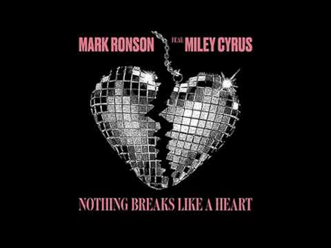 Nothing Breaks Like A Heart- Mark Ronson Ft.  Miley Cyrus (Bass Boosted)
