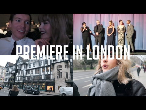 FIFTY SHADES PREMIERE IN LONDON | Weekly Vlog