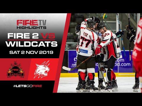 Cardiff Fire 2 v Swindon Wildcats 02/11/19