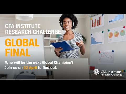 CFA Institute Research Challenge Global Finals Live