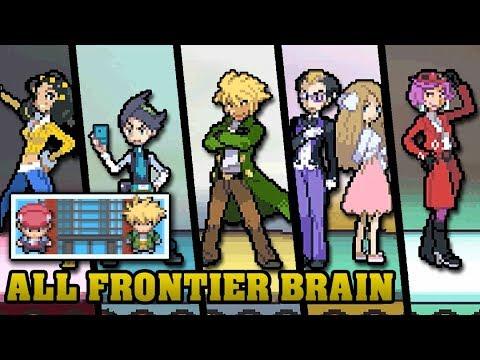 Pokémon DPPt & HGSS - All Frontier Brain Battles【Gold Prints】[HQ]