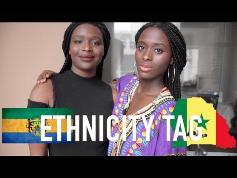 THE ETHNICITY TAG !!! | FR | ⚠️️ BLEDARD ( Gabon / Sénégal )