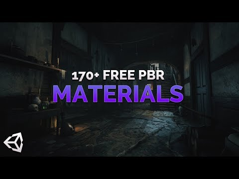 170+ Free PBR Materials - Unity / Unreal and more!