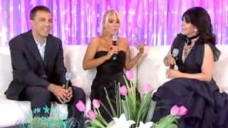 Veronica y Cristian Castro en Noche de Estrellas parte 1