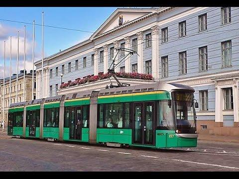 Helsinki Public Transport- Timelapse
