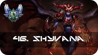 Shyvana Jungle vs Lee Sin Diamond Season 5 s5 - Gameplay Guide League of Legends Community Games