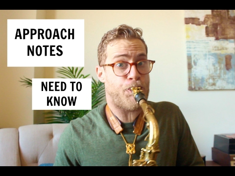🎷👍  Approach Notes   How To Solo Like A Pro   Todd Schefflin   Perfect for Jazz + All Music Styles