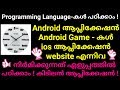 Best application for learning Programming languages| how to create application, games, website etc.|