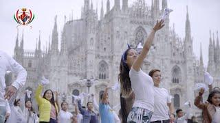 Marinera Peruana Conquista Italia | Bellísimo Flashmob Milán 2019