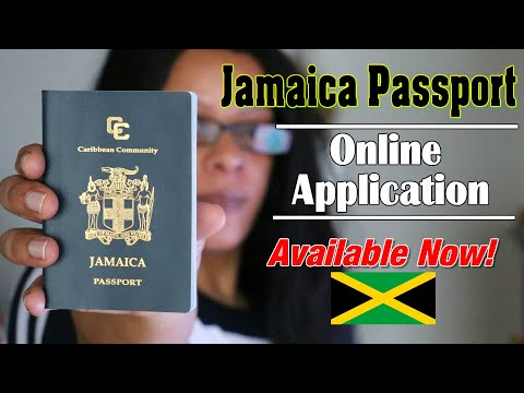 Jamaica Passport Application Online