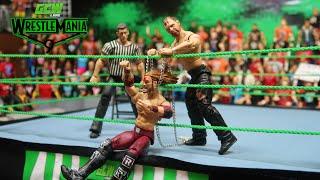 GCW WRESTLEMANIA 9 PART 1 (WWE Action Figure Match)
