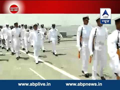 Defence minister Arun Jaitley visits Western Naval Command in Mumbai