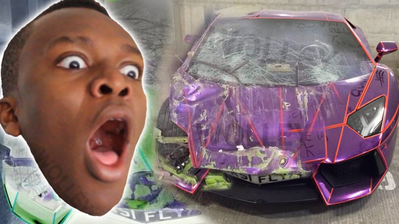 Crashing Ksi S Purple Lamborghini Faily Brakes Highest Score Gameplay Car Crash Games For