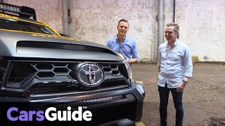 Toyota HiLux Tonka Concept | up close with its Aussie designer video