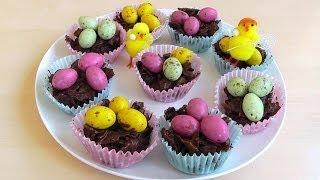 Easter Chocolate Cornflake Cakes How To Make Recipe