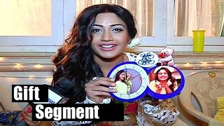 Repeat youtube video Surbhi Chandana Gift Segment   Ishqbaaz   Telly bytes