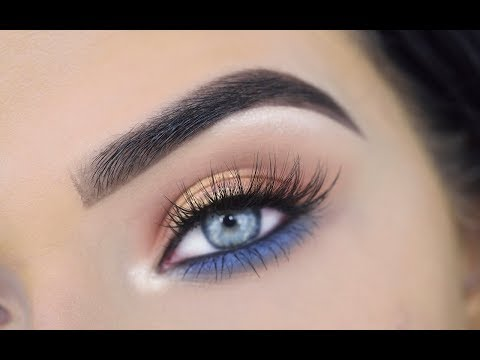 Mario Eyeshadow Palette Eye Makeup Tutorial