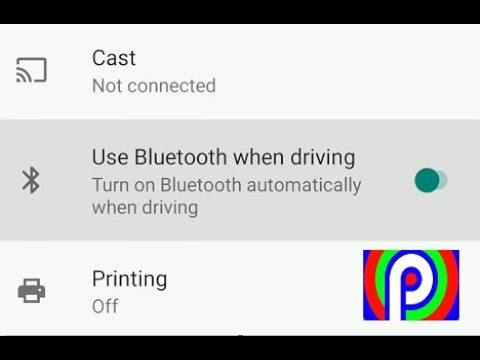 How To Make Your Bluetooth Turn On Automatically While Driving On Android Pie 9.0 Phone