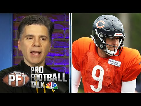 What does future hold for Trubisky after Bears name Foles starter? | Pro Football Talk| NBC Sports