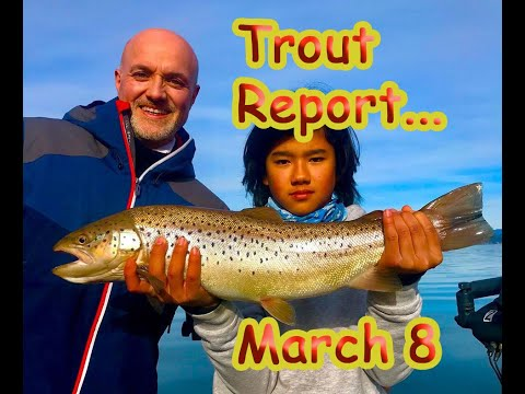 Norcal Trout Report: March 8!