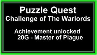 "PQ: CoTW - RoTPL ""Master of Plague"" Achievement [Xbox 360]"
