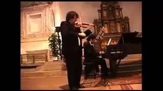Paolo Chiavacci (violino) Alessio Cioni (Pianoforte) - Albino Classica, VI Edizione