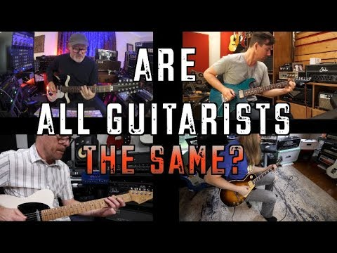 Are All Guitarists The Same? Ft Pete Thorn,Shawn Tubbs,and Tim Pierce
