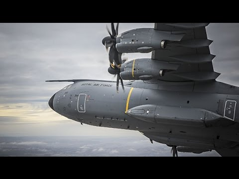 The Airbus A400m Atlas Transporter | Military Machines